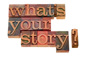 what's your story block