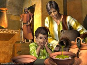 Elijah widow son